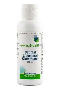 Optimal Liposomal Glutathione od Seeking Health zawiera glutation w najlepiej przyswajalnej liposomalnej formie!