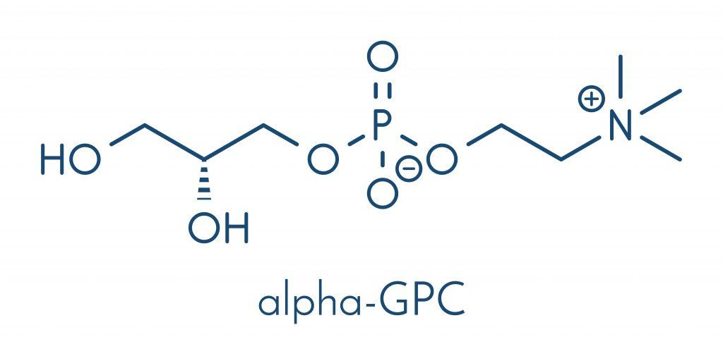 Wzór Alfosceran choliny - jednej z najbardziej efektywnej formy choliny
