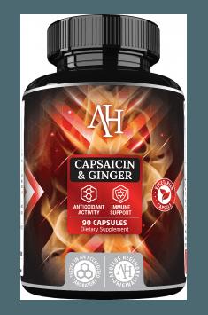 Capsaicin & Ginger od Apollo Hegemony łączy w sobie ekstrakt z imbiru z dodatkiem kapsaicyny