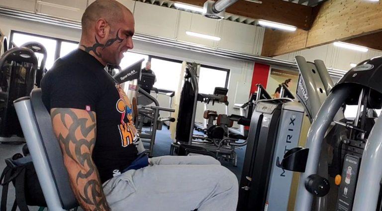typowy trening nog