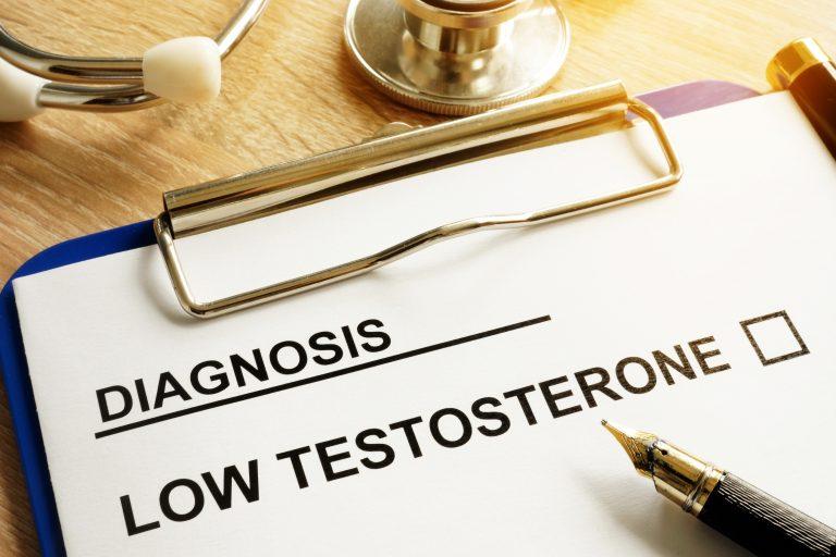 testosteron, niski poziom testosteronu,