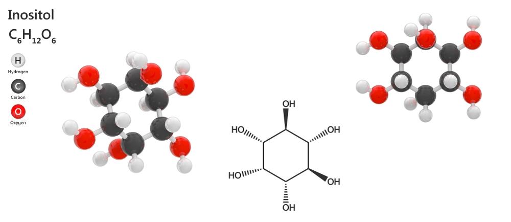 Budowa chemiczna inozytolu