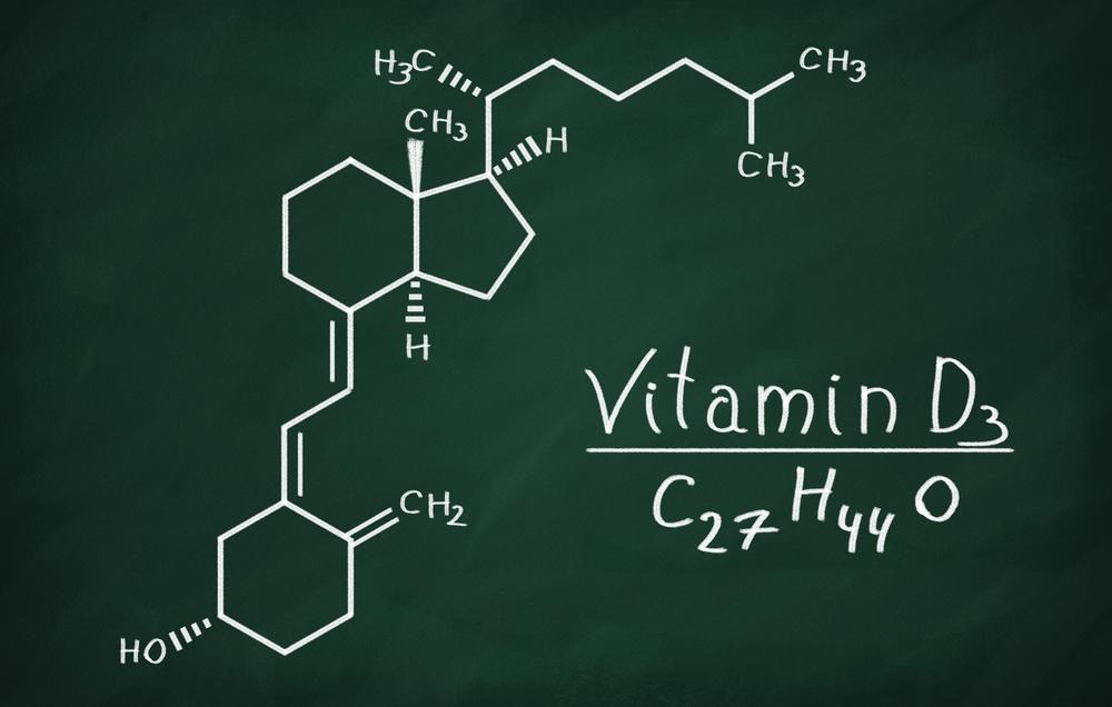 Wzór strukturalny witaminy D3