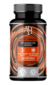 Apollo Hegemony Vitamin D3 - wysoce przyswajalna forma Witaminy D3 w wysokiej dawce