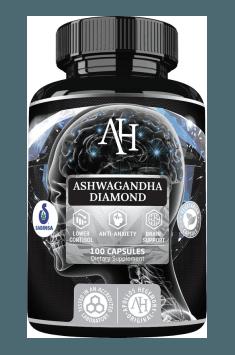 Ashwagandha Diamond to skuteczny suplement, zawierający mocno stężony ekstrakt Ashwagandhy wpływający pozytywnie na zmniejszenie poziomu Kortyzolu
