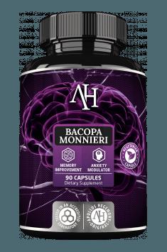 Polecana Bacopa Monnieri z firmy Apollo Hegemony zawiera ekstrakt posiadający aż 50% bakozydów!