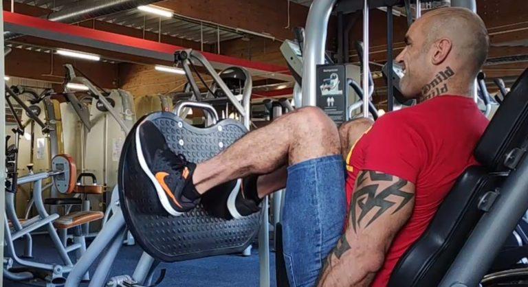 beznajdzny trening/nogi