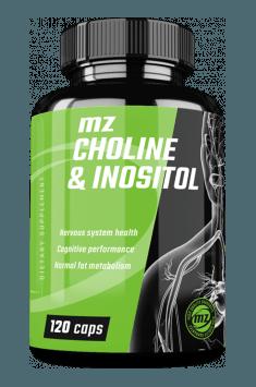 Choline & Inositol firmy MZ Store to optymalne połączenie inozytolu i choliny w niskiej cenie i efektywnej dawce