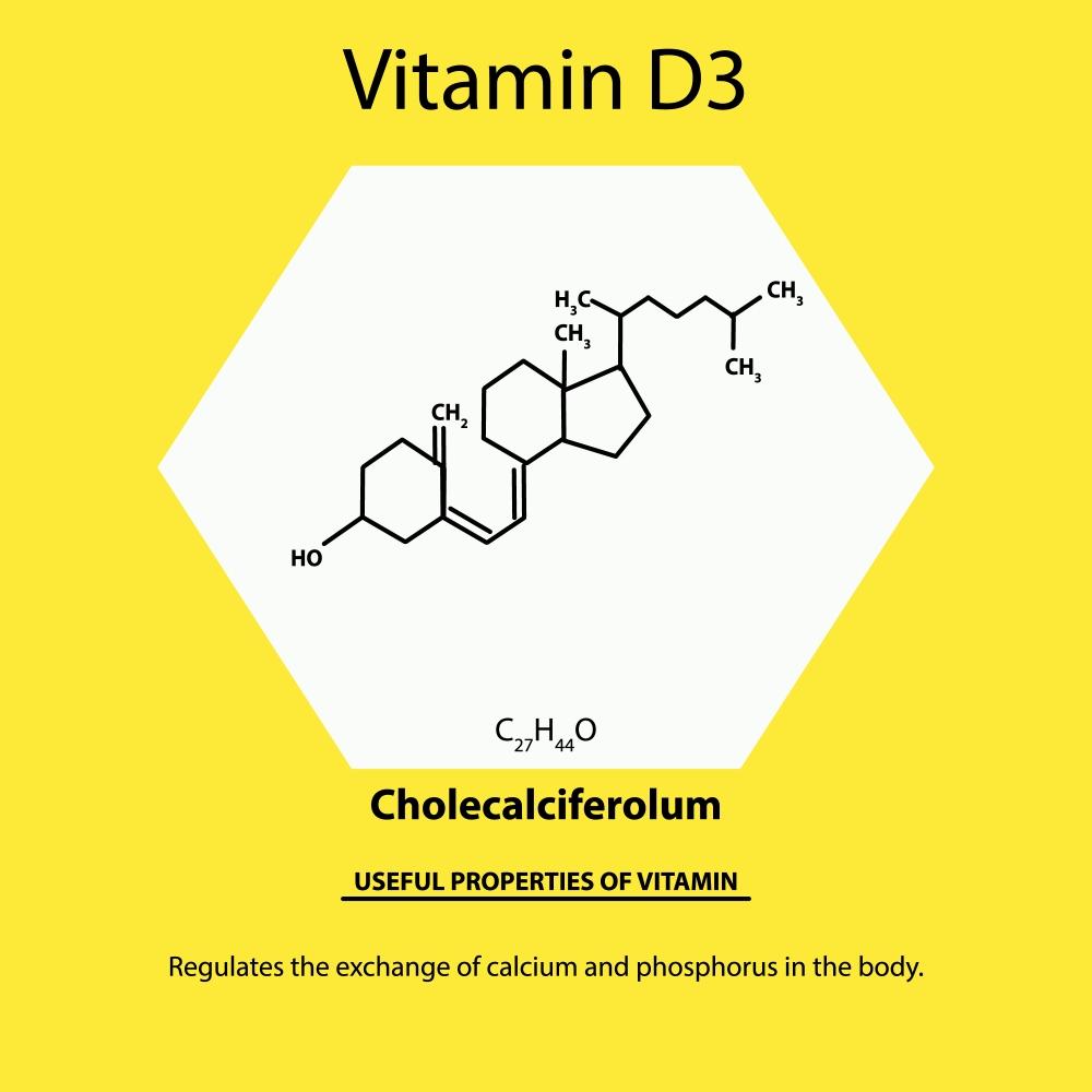 Wzór witaminy D3 i jej najważniejsze zalety