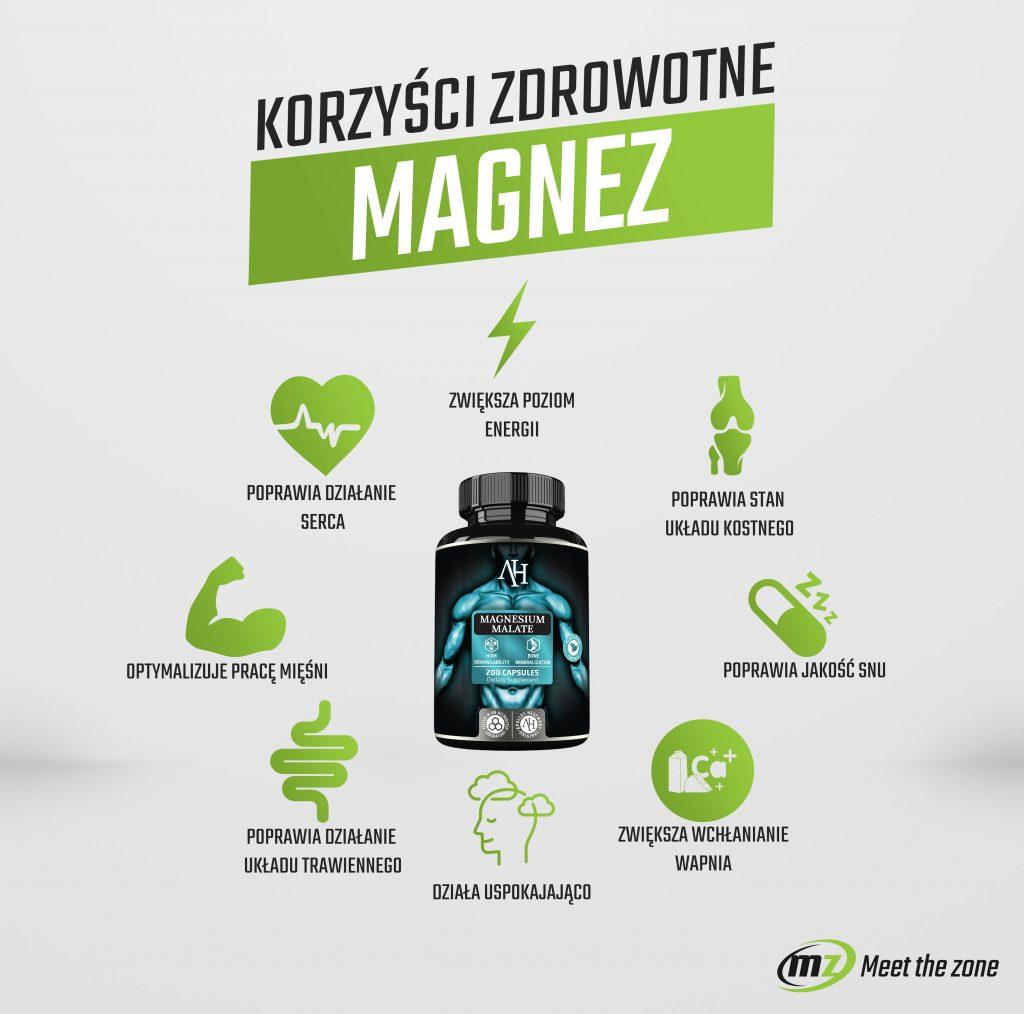 Korzyści zdrowotne magnezu