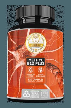 Methyl B12 Plus od Apollo Hegemony - rekomendowany suplement zawierający wysoką dawkę Witaminy B12 w aktywnej formie metylokobalaminy