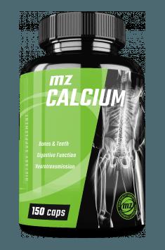MZ Store Calcium - optymalna dawka wapnia w najlepiej przyswajalnej formie cytrynianu, w ekonomicznej cenie