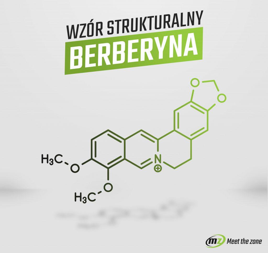 Wzór strukturalny berberyny
