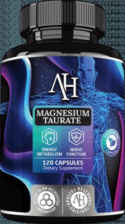 Rekomendowany suplement z taurynianem magnezu - Apollo's Hegemony Magnesium Taurate