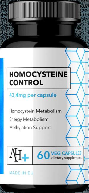 Homocysteine Control od Apollo's Hegemony to nowoczesna, kompleksowa formuła ułatwiająca kontrolę poziomu homocysteiny w naszym organizmie
