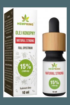 Olej Konopny Natural Strong