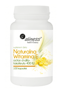 Naturalna Witamina E 400IU