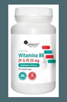 Witamina B6 (P-5-P) 25mg