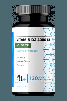 Vitamin D3 4000 IU
