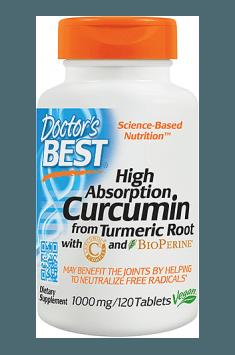 High Absorption Curcumin 1000mg
