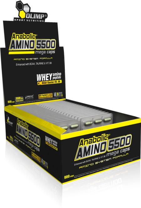 olimp anabolic amino 5500 mega caps 400