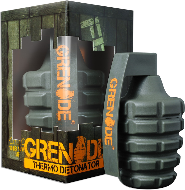 GRENADE THERMO DETONATOR 100/44 CAPSULES FAT BURNER STRONG